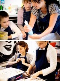 Atelier art & cuisine pour kids en appartement